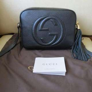 Auth Gucci Soho Disco Bag