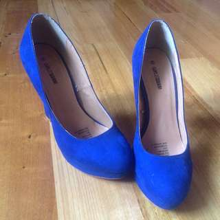 Blue Girl Express Pumps