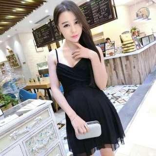 BN Black Twisted Spag Dress (C3) (Pending, Jessymanalo)