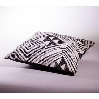 Tapa Cloth Style Cushion Cover 50x50cm