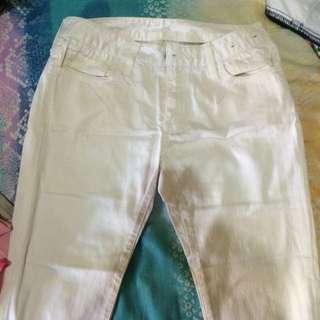 WHITE PANTS FOREVER 21