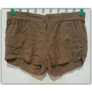 Zara Shorts In Khaki/Brown|Size: 33