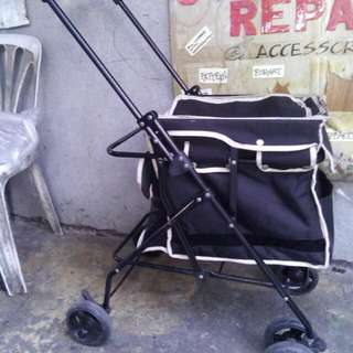 Dog Stroller And Bed