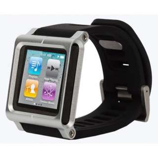 Ipod nano 6th generation 16gb with Lunatik watch strap