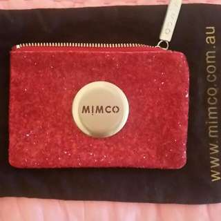 MIMCO Red Sparkle Mimpouch