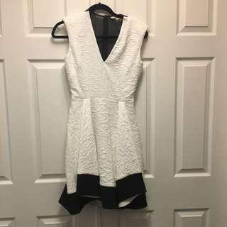 maje White Dress Size 1