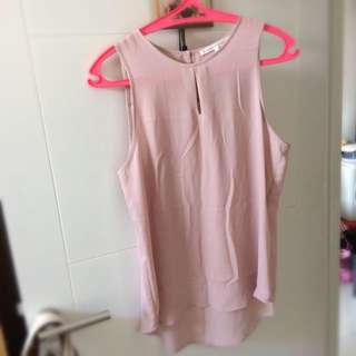 Loose Pink Tank Top