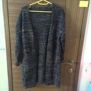 厚重開襟外套
