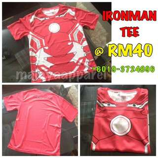 Ironman Marvel Compression Tee