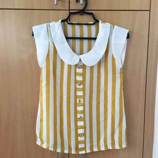White And Yellow Top (Small)