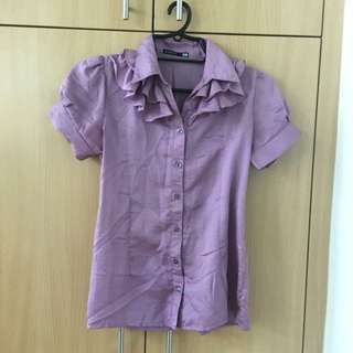 Shapes Purple Top (Small)