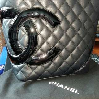 CHANEL牛皮手貨100%95%新