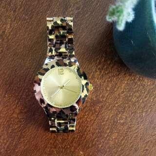 Leopard Patterned Watch