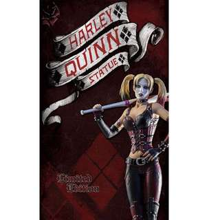 NEW BOXED LIMITED EDIT. (SOLD OUT) Batman: Arkham City Harley Quinn 1/6th Statue