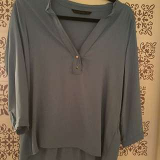Sheer Feel Chiffon Zara Top