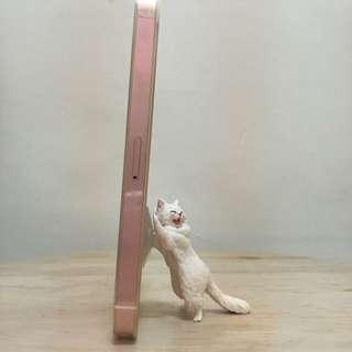 貓咪吸盤手機座