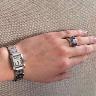 Cartier Tank Lady Watch In Steel