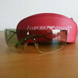 657083229513 Emporio Armani 9285 Green Unisex (Still New)
