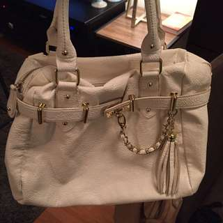 White Steve Madden Bag