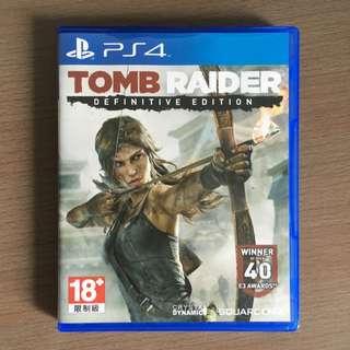 PS4古墓奇兵 TOMB RAIDER 中英合版