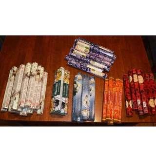 Incense sticks ($2 per box, 20 sticks in each)