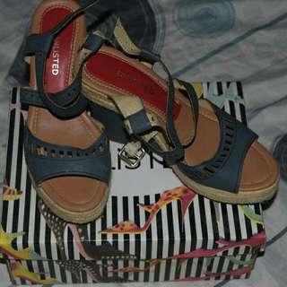 Unlisted Wedge Open Sandals