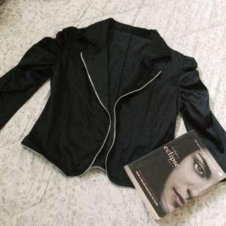 Black Satin Jacket