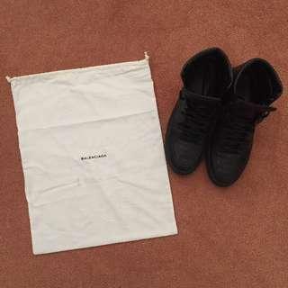 Balenciaga - High Top Leather Sneakers