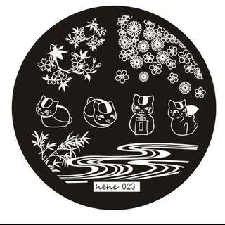 Nail Art Stamp Plate