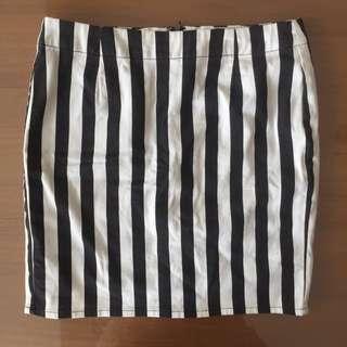 GU Striped Skirt