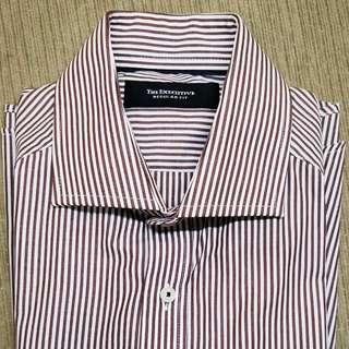 The Executive Kemeja Lengan Panjang stripped long sleeve shirt