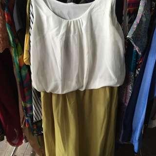Dress Midi Shiffon
