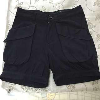 日本專櫃iimk 羊毛五分褲