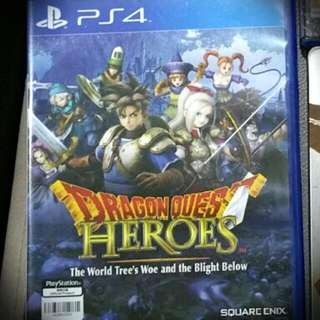 PS4 game- Dragon Quest Heroes