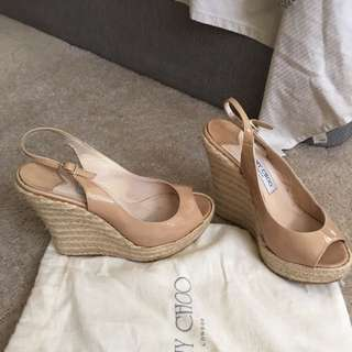 Authentic Jimmy Choo Polar Wedge