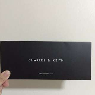 $100 Charles & Keith voucher