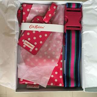 Cath Kidston Luggage Accessories Gift Set #marchsale