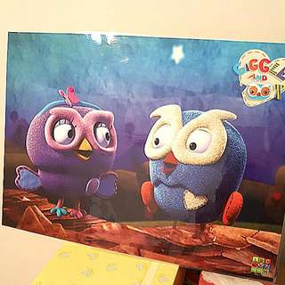 Giggle & Hoot Poster