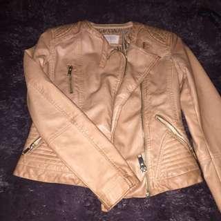 Leather Jacket Bershka