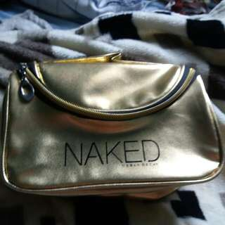 Class A NAKED makeup pouch (RESERVED)