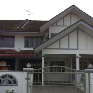 Taman Jati Double Storey Terrance House For Sale In Melaka
