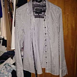 Guess Stripe Lace Shirt