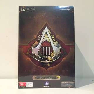 Assassins Creed 3 Freedom edition PS3 - Aust Edition