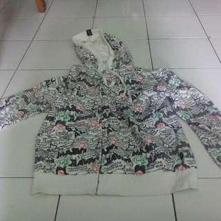 jaket full print no tag,,