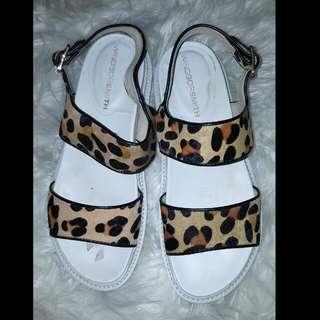 """Windsor Smith """"TEMPT"""" Ocelot Sandals"""
