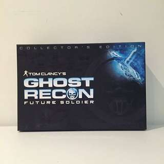 Tom Clancys Ghost Recon Future Soldiers - Collectors Edition
