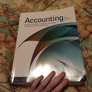 Accounting 9th Ed Textbook