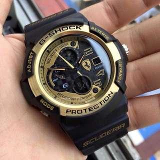 out of stock G-shock x ferrari
