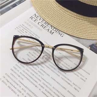 現貨/韓版 文青 大框眼鏡架 文藝 復古 眼鏡