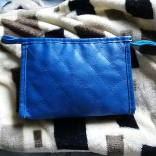 Quilted Makeup Pouch